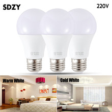 LED lamp E27 LED Bulb AC 220V 230V 240V 15W 12W 9W 7W 5W 3W Lampada LED Spotlight Table lamp Lamps light(China)