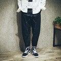 Diseño clásico de la Marca Pantalones Vaqueros de Los Hombres de Moda 99% algodón Denim Jeans Para Hombre Pantalones Vaqueros de Alta Calidad Para Los Hombres Vaquero Harlan Grandes Patios pantalones