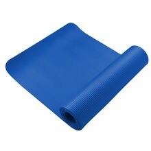 1,83 м Упражнения Йога Коврик Нескользящие прочный Пилатес Фитнес тренажерный зал подушки
