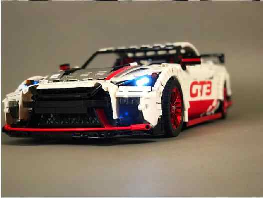 Technic MOC Series Racing Car  Technology GTR GT3 25326 bricks model building kits blocks toys boys gift
