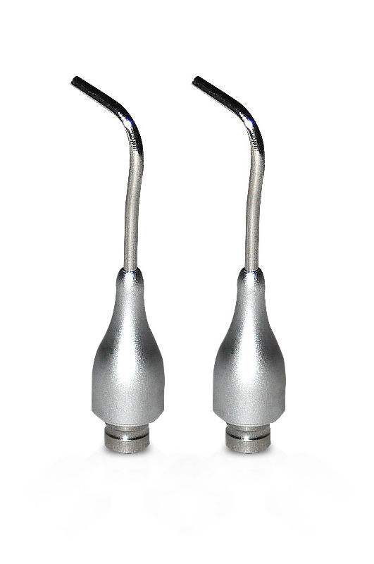 2pcs Autoclavable Spray Nozzles For Dental Scaler Air Polisher Tooth Prophy Jet