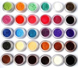 Image 4 - 10Ml 24สีMica Pigments ~ ธรรมชาติPearlescent Micaผง ~ Metallic Dyeสำหรับเล็บเครื่องสำอางค์ภาษาโปลิชคำสบู่