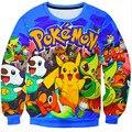 Sudadera pikachu pokemon pikachu do hoodie moletom com capuz roupas pokemon 3d harajuku kawaii sudaderas mujer 2016 hoodies