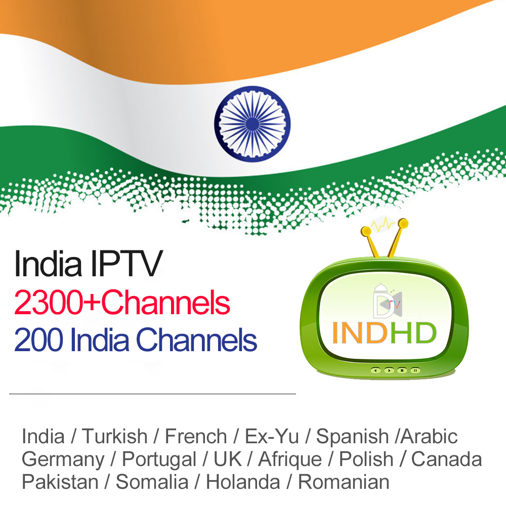 IPTV for Android France Italy Ex Yu India IPTV Germany Somalia IPTV Subscription Romania Africa Arabic IP TV Code 6M/12M IP TV-in Set-top Boxes from Consumer Electronics