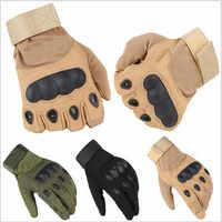New Military Tactical Gloves Outdoor Sports Full Finger Motorcycle Non-slip Carbon Fiber Tortoiseshell Gloves