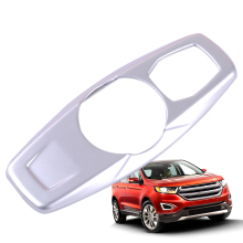 DWCX Car Styling Interior Silver Rear Reading Lamp Light Trim Cover Decoration Fit For Ford Edge 2015 2016