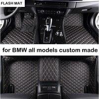 car floor mats for bmw g30 bmw e90 f10 f01 f25 f30 f45 x1 x3 f25 x5 f15 e30 e34 e60 e65 e70 e83 320i auto accessories car mats