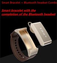 สมาร์ทนาฬิกาK2บลูทูธสร้อยข้อมือS Mart W AtchการออกแบบสำหรับIOSและAndriodโทรศัพท์สวมใส่อุปกรณ์กีฬานาฬิกา+ชุดหูฟังบลูทูธ