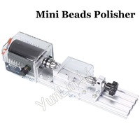 DIY Mini Lathe Polisher 220V/110V Grinder Drill Table Saw Machine Polishing Cutting Tools beads Woodworking Machine
