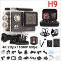 H9 Original cámara de Acción 4 K WIFI Ultra HD 1080 p 60fps 2.0 LCD 170d ir impermeable cámara mini pro deportes cámara gopro hero 4 estilo