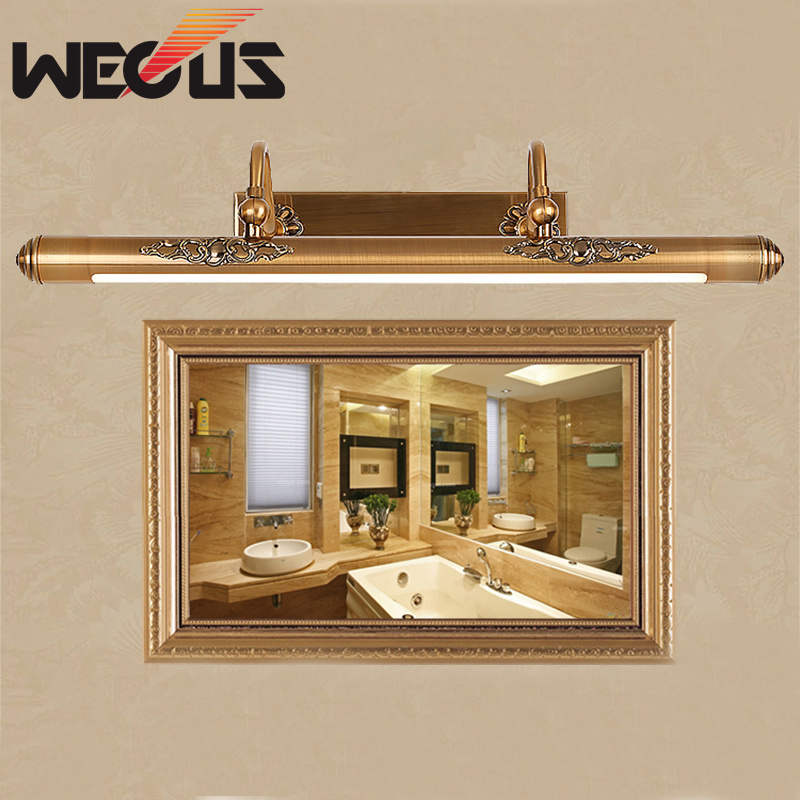 Hotel home preferred bathroom light led waterproof american bedchamber mirror lamp 50cm painting shining lighting