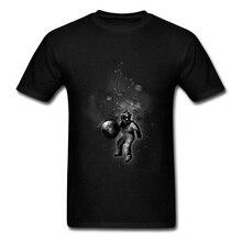 Adult Brand Tops Shirt Deep Sea Space Diver Astronaut Short Sleeve Men T Shirts Print 3D Tees 100% Cotton O-Neck Man Tshirts