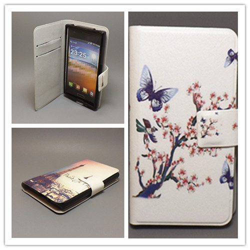 New Ultra thin Flower Flag vintage Flip cover FOR <font><b>ZTE</b></font> Grand X V970 <font><b>V970M</b></font> U970 Cellphone Case Freeshipping image