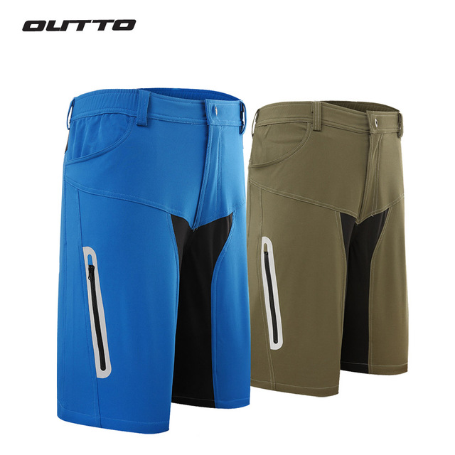 Outto Men s Riding Outdoor Running Sports Losse fit Baggy Cycling shorts  MTB Mountain Bike Ropa Bicycle Shorts 1022b36e3