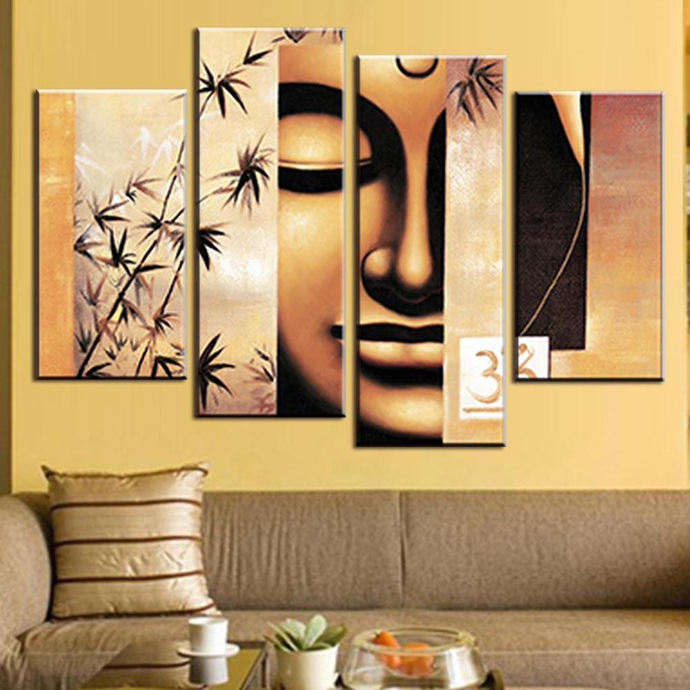 Amazing Canvas Wall Art Set Of 4 Gallery - The Wall Art Decorations ...