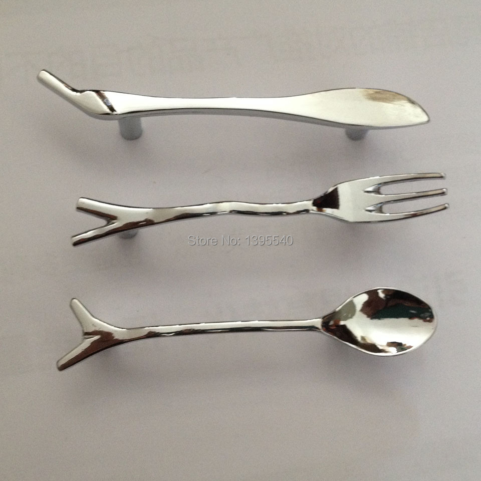 Aliexpress.com : Buy New Silver Spoon Knife Fork Kids Bedroom ...