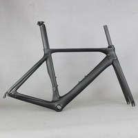 2019 New carbon road bike frame road cycling bicycle frameset oem brand frame clearance frame fork seatpost carbon frame