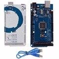 Новый Электрический Блок Совета ATmega2560 16AU Микроконтроллер Совета + USB Кабель Для Arduino Модуль R3 Для MEGA 2560 5 В