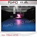 ПК контроллер P3 led лампы свадьбы видения фон led фонарик видео дисплей led занавес 1x2.5 m