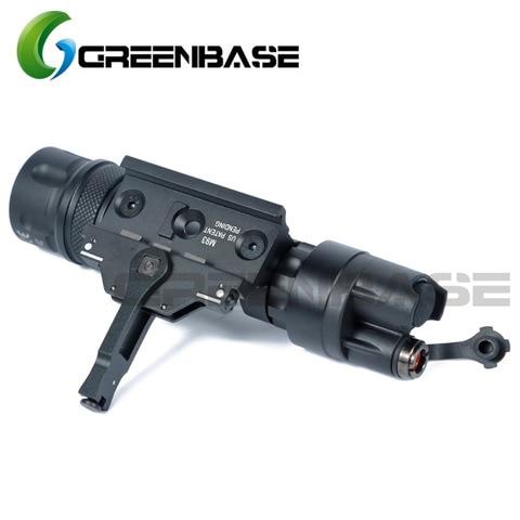 greenbase m952v ir scout luz led armelight