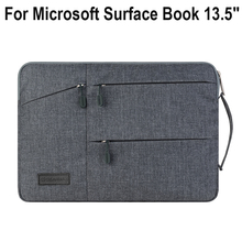 Creative Design Laptop Sleeve Pouch For Microsoft Surface book 13.5 inch laptop High-capacity Bag Tablet Notebook Pouch