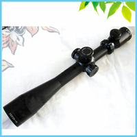 Long Range Glass Mildot Reticle Tactical Hunting Riflescope Zoom Red Green Illuminated 10 40X50 Rifle Scope with 11/20mm Mount