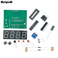 High Quality 100 Sets C51 4 Bits Electronic Clock Electronic Production Suite DIY Kits C51 Electronic Clock