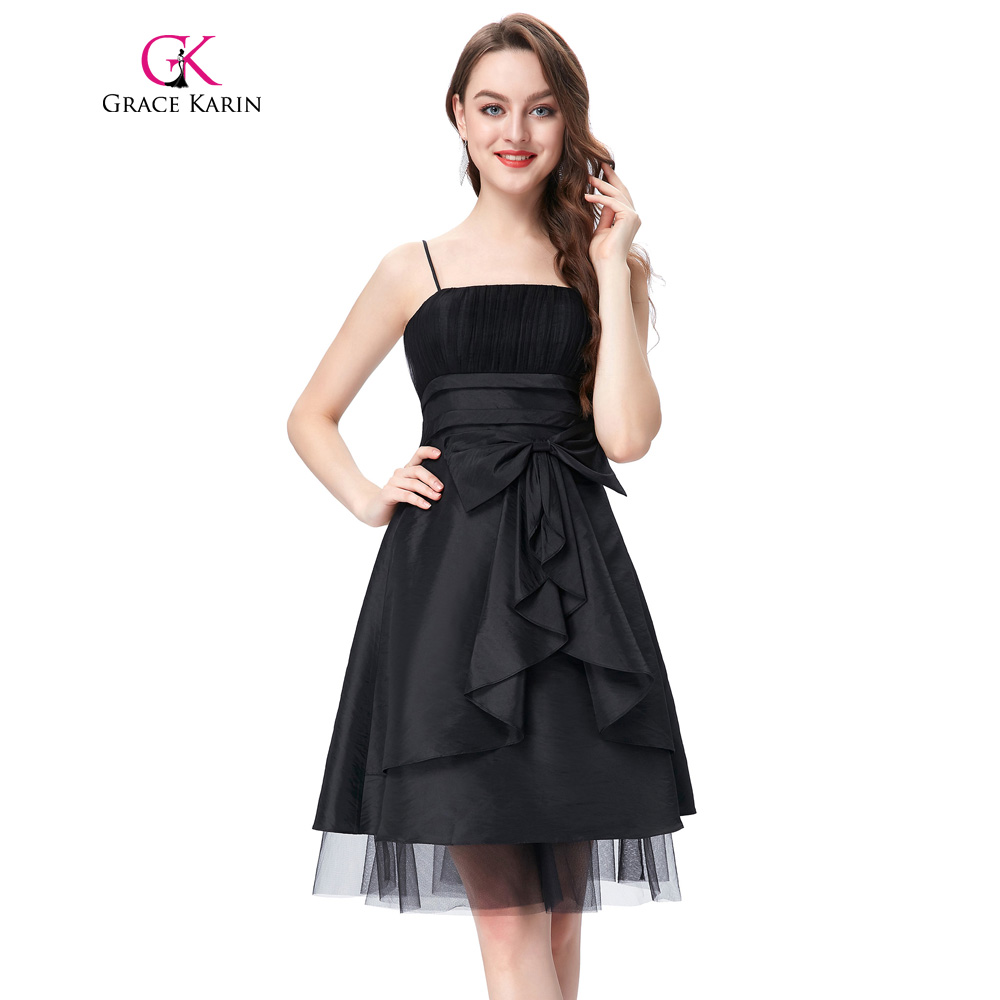 Grace Karin Cocktail Dress Short Party Dress Women Taffeta Robe De ...