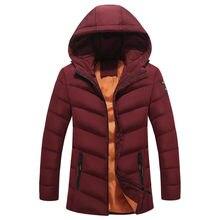 db99cc92249 Новинка 2019 года куртки парка для мужчин Лидер продаж осень зима теплая  верхняя одежда бренд Тонкий