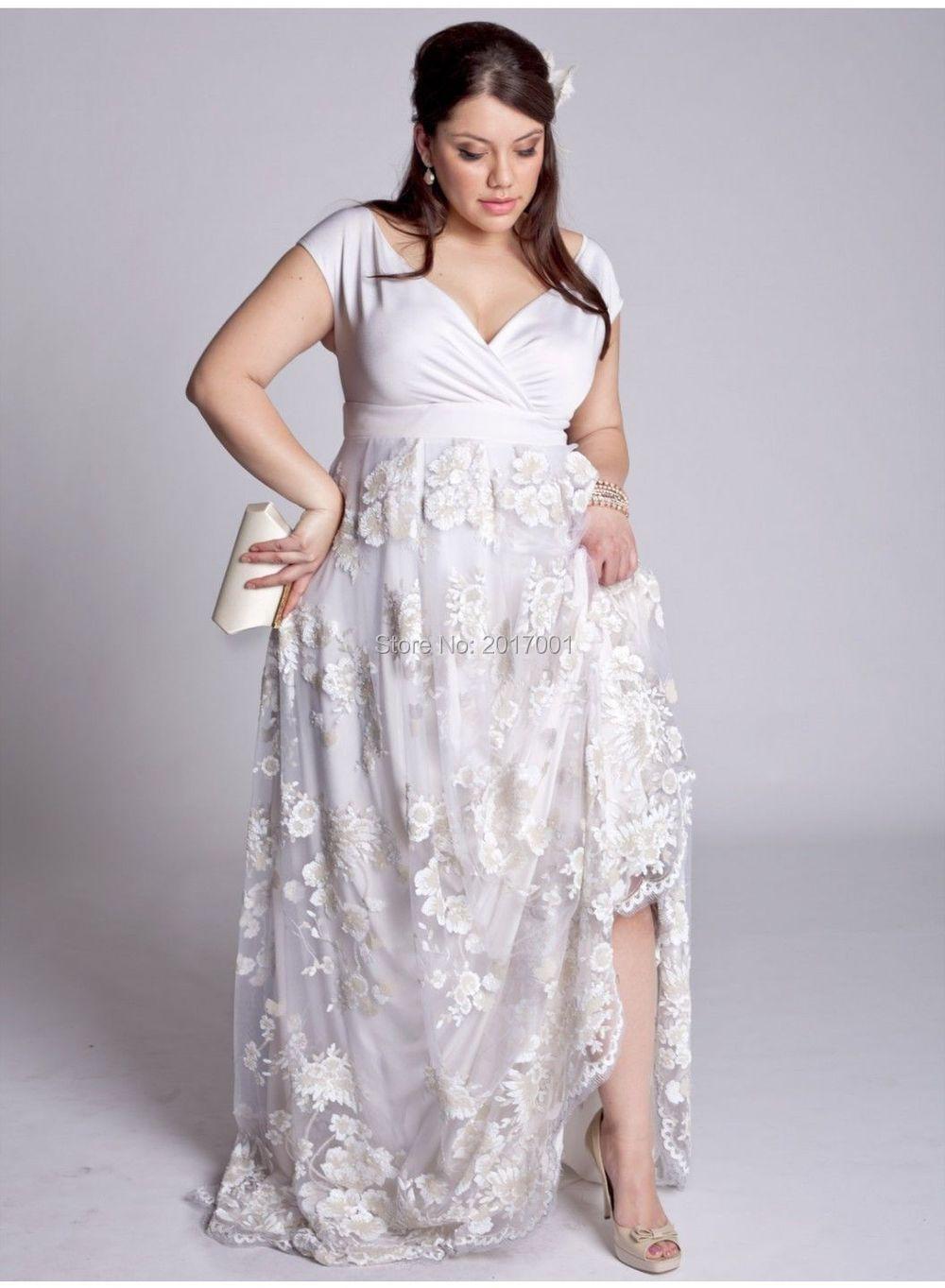 elegant tank wedding dresses plus size 2015 satin and appliques champagne of ribbon for big women