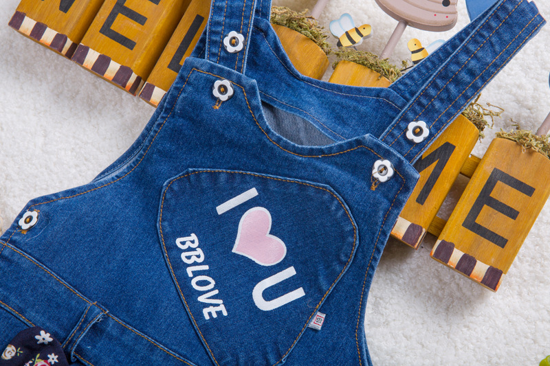 BibiCola-Free-shipping-2017-Spring-Autumn-sweet-baby-girls-denim-overalls-infant-cute-pants-overalls-girls-Rompers-1