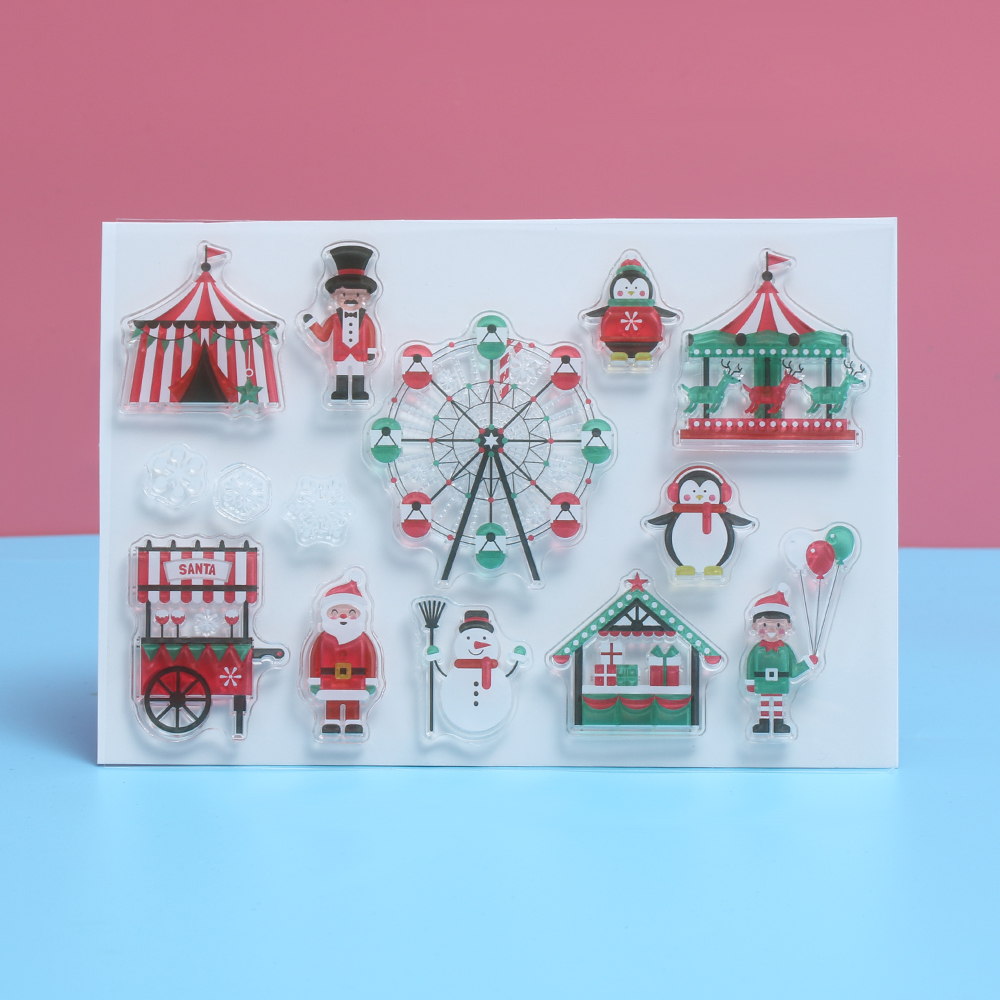Holiday Crafts: Rubber Stamp Decorations forecast