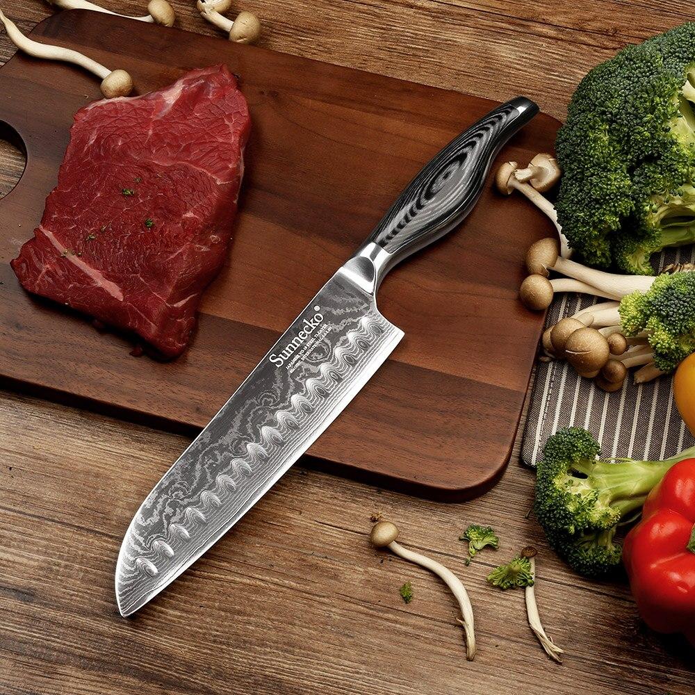 "Aliexpress.com : Buy Top Quality SUNNECKO 7"" Santoku Chef"