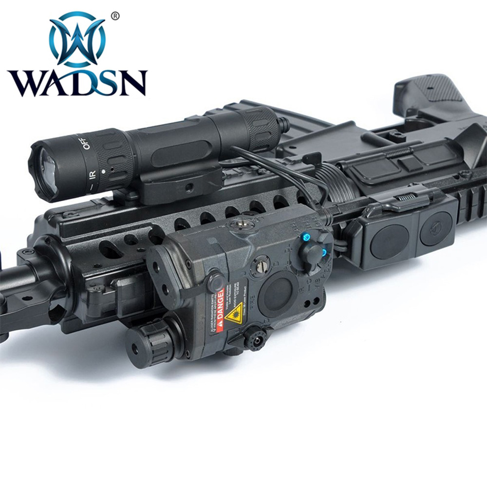 Image 5 - WADSN Weapons Airsoft LED light Tactical kit includes LA 5/PEQ 15 Red IR Laser & WMX200 Flashlight &Double Remote Control WEX418-in Weapon Lights from Sports & Entertainment