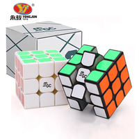 YJ YongJun MGC Magnetic Mini Cube 57mm High Quality Colorful sticker Smooth Professional Puzzle Magic cube Classic Toys Neo Cube