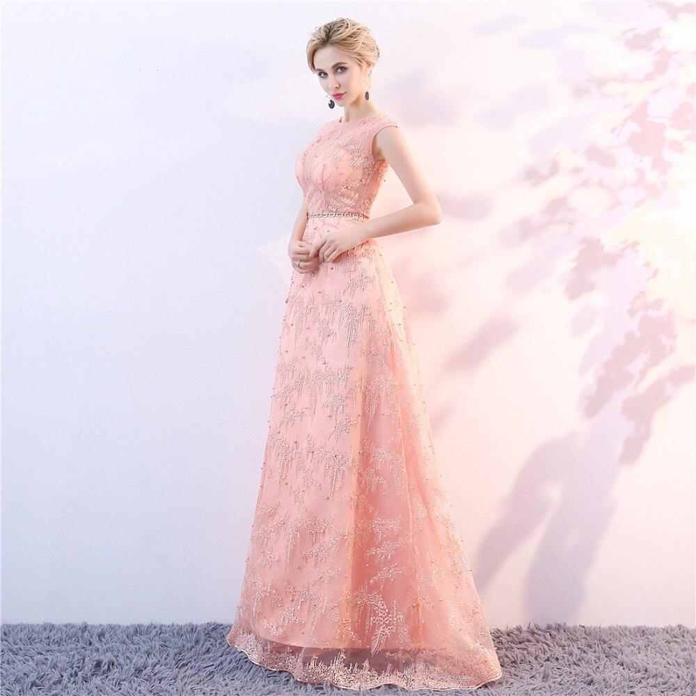 Avondjurken Lange Plus Size Tule kant Prom Feestjurk Vestido De Candy - Jurken voor bijzondere gelegenheden - Foto 3