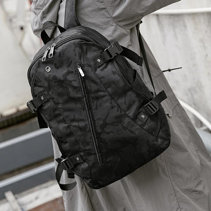 Sac à dos hommes USB charge loisirs grande capacité sac de voyage mode tendance sac à dos pour ordinateur portable collège collège sac à bandoulière mochila