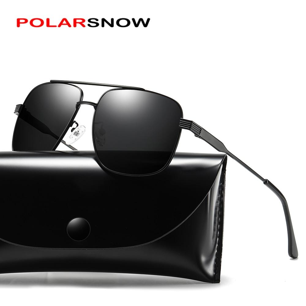 POLARSNOW солнцезащитные очки для женщин Брендовая Дизайнерская обувь небольшой площади Sunglases Для мужчин металлический каркас вождения Рыбалк...