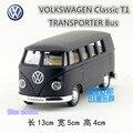 RMZCity 1:36 Литья Под Давлением модели автомобиля/Моделирование: Volkswagen T1 Автобусный Транспорт/Вытяните назад игрушки для детских подарков/коллекция/Образовательных