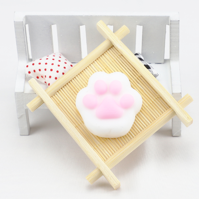 Adorable Squishy Cute Antistress Ball Squeeze Mochi Cat Claw Rising Abreact Soft Sticky Stress Relief Toys Birthday Gifts