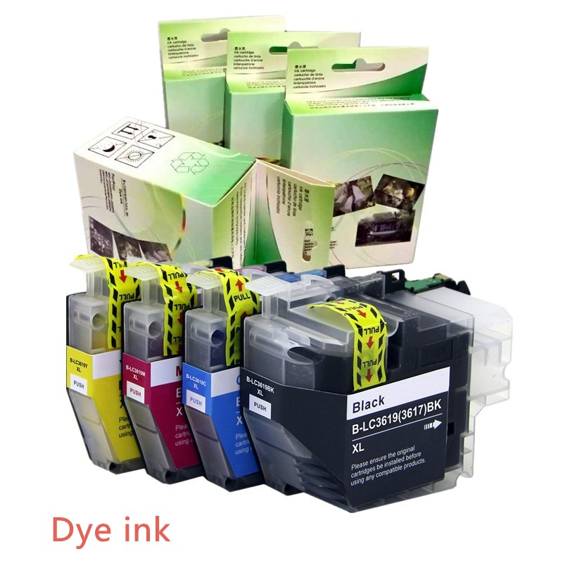 YOTAT LC3619 XL with Dye ink LC3619 (LC3617) ink cartridge for Brother MFC-J2330DW MFC-J2730DW MFC-J3530DW MFCJ-3930DW procolor newest refill ink cartridge lc133 lc135 lc137 with arc chip for brother mfc j6920dw mfc j6520dw mfc j6720dw j6720dw