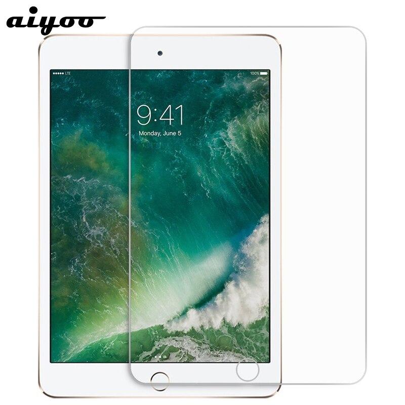 Protetor de Tela do Filme de Vidro temperado para o iPad 10.2 2019 7th 2018 6th 2017 5th Geração 5 6 9.7 Ar 1 2 Pro 10.5 11 Mini 2 3 4
