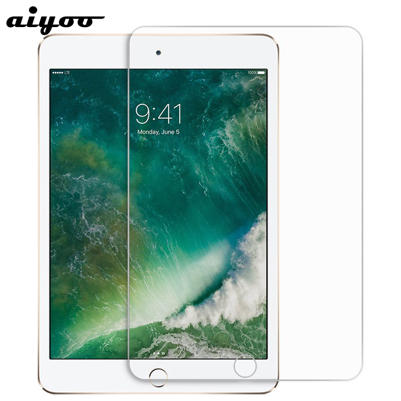 Aiyoo Tempered Glass for iPad 2017 9.7 inch Screen Protector for iPad 5 6 Air 1 2 Pro 9.7 Tempered Glass Film for iPad 2018 9.7 стоимость