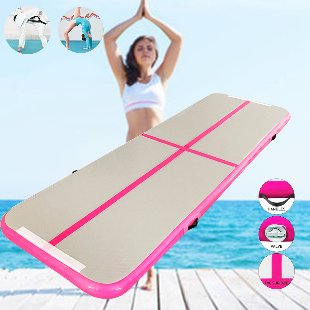1-3m Gymnastics Air Track Olympics Gym Yoga Wear-resistant Airtrack Gym Mattress water yoga mattress for Home/Beach/Water yoga