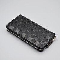 2016 Luxury Male Leather Purse Men S Clutch Wallets Handy Bags Business Wallets Men Black Brown