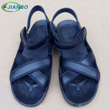 2018 Hot Selling Fashion Safety Shoes Women Summer Beach Sandals Black Plus Size 38-46 New High Quality Genuine Leather Sandals brand new quality hot elegant sweet women wedge sandals beige black blue lady fashion casual shoes em38 plus big size 32 43