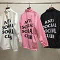 ANTI SOCIAL SOCIAL CLUB Chaquetas Rompevientos Hombres ASSC Logo Hip Hop Yeezy Temporada Suprem Caja Jaket Treinador Bombardero Alfa Ceket escudo