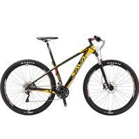 Новый бренд горный велосипед 29 дюймов колеса углерода Волокно Рамки 30 Скорость свет Велосипедный Спорт на открытом воздухе горные масло ди