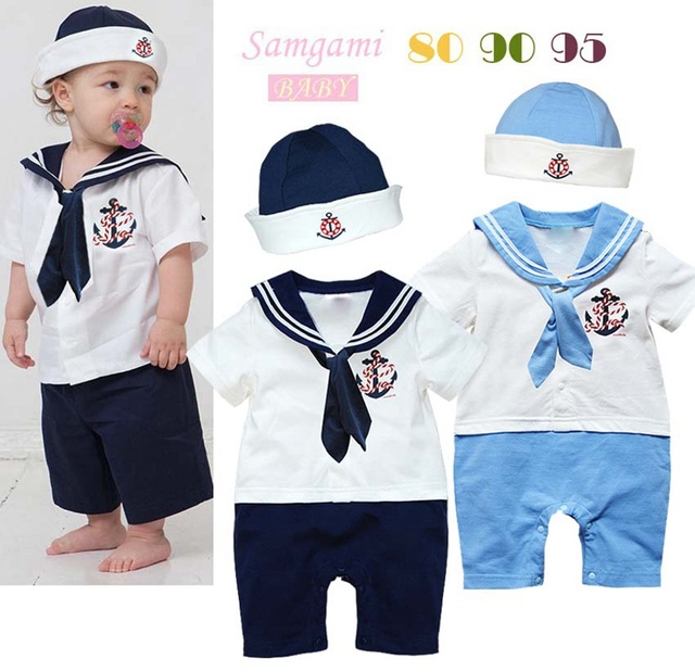 Casual New 2015 Baby Suits for Boys Rompers Overall + Cap Kids Clothes Sets Toddlers Outfits Bebe Clothing Outerwear