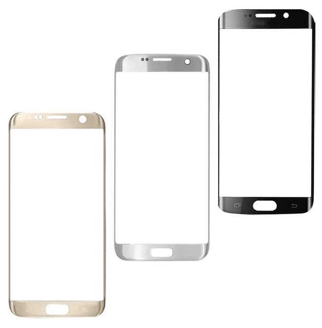 High Quality  New Front Outer Glass Lens Screen  Replacement For Samsung Galaxy S7 Edge G935 G935F free shipping